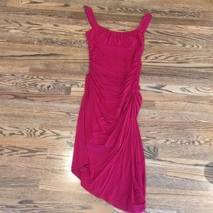 Vintage BCBG Red Dress, S